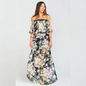 Show Me Your Mumu - Hacienda Maxi Dress - Party Bl